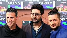 The Housefull 3 Gang Crashes Kapil Sharma's Show