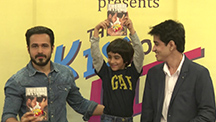 Emraan Hashmi Launches 'The Kiss of Life'