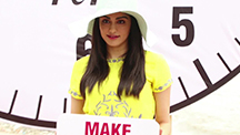 Actress Adah Sharma Takes to the Streets for a Cause