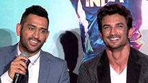 M.S. Dhoni & Sushant Singh Rajput Talks About Their Special Bonding