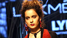 Kangana Ranaut Sets The Ramp on Fire!