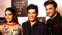 Shraddha Kapoor & Sushant Singh Rajput Turn Showstoppers For Manish Malhotra