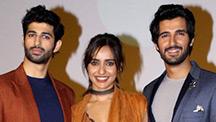 Actress Neha Sharma & Director Anubhav Sinha Share Their Feelings At The Tum Bin 2 Teaser Launch