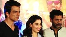 Tamannaah Bhatia & Sonu Sood Get Candid