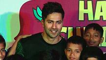 Varun Dhawan & Alia Bhatt get candid on Children's Day