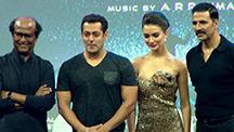 Salman Khan Makes a Surprise Appearance at Rajinikanth & Akshay Kumar's Event