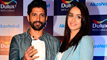 Shraddha Kapoor & Farhan Akhtar Talk About The Importance Of  Colour