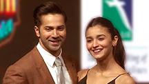Varun Dhawan & Alia Bhatt Talk 'The Oscars'
