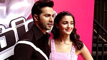 Varun Dhawan & Alia Bhatt Sing 'Tamma Tamma'