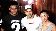 Alia Bhatt & Varun Dhawan Get 'Mobbed'