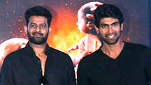 Prabhas & Rana Daggubati Dazzle at Bahubali-2 Trailer Launch