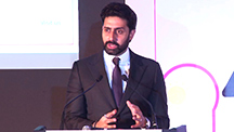 Abhishek Bachchan Talks About a 'bright future'
