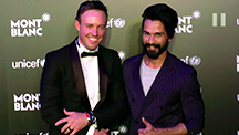 Shahid Kapoor & Ab De Villiers Dazzle Together