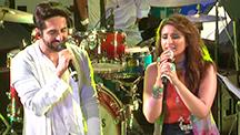 Parineeti Chopra & Ayushmann Khuranna flaunt their 'vocal skills'