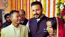 Vivek Oberoi graces an acid attack survivor s wedding