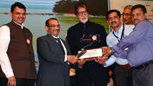 Amitabh Bachchan promotes 'Darwaza Band'