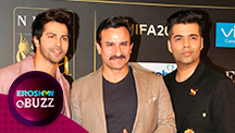 Varun Dhawan quizzes Saif Ali Khan about 'Backstage Parties' | E Buzz