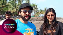 Jackky Bhagnani & Pooja Bhatt clean a Mumbai Beach