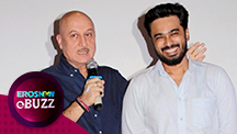Anupam Kher on producing his latest film | E Buzz