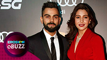 Virat Kohli & Anushka Sharma at Indian Sports Honours event
