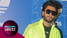 Ranveer Singh in neon & black