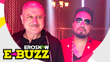 Mika Singh to work with Anupam Kher