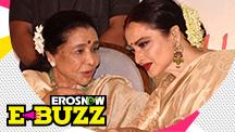 Rekha remembers Asha Bhosle's warning