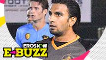 Ranveer Singh shows off his brilliant football skills