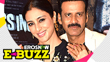 Tabu and Manoj Bajpayee at the trailer launch of their film