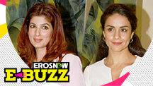 Twinkle Khanna & Gul Panag at a press meet