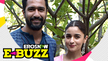 Alia Bhatt and Vicky Kaushal at a film event