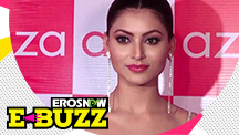 Glam girl Urvashi Rautela spotted in the city!
