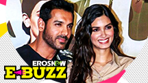 John Abraham and Diana Penty at the trailer launch!