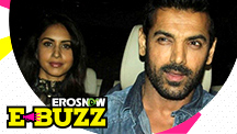John Abraham spotted with his wife!
