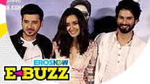 Shraddha Kapoor and Shahid Kapoor at a trailer launch