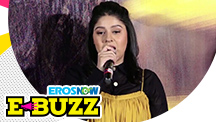 Sunidhi Chauhan sings at a song launch