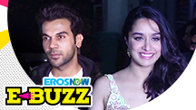 Shraddha Kapoor and Rajkummar Rao at the screening of their upcoming film