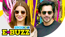 Anushka Sharma and Varun Dhawan turn the city colourful!