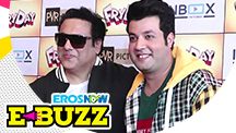 Govinda and Varun Sharma At Fryday's Trailer Launch