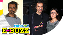 Nawazuddin Siddiqui and Imtiaz Ali at a grand premiere