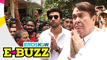 Ranbir Kapoor At A Ganpati Celebration