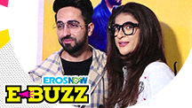 Ayushman Khurana and Bhumi Pednekar at a special screening
