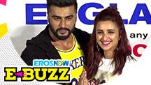 Arjun Kapoor and Parineeti Chopra at a music launch
