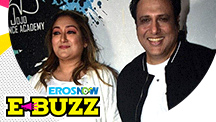 Govinda at a special film screening