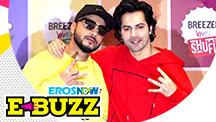 Varun Dhawan and Raftaar shoot for a music video
