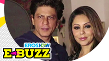 Shah Rukh Khan and Gauri Khan at a Mexican restaurant