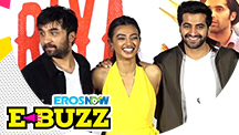 Radhika Apte and Akshay Oberoi at a Trailer Launch