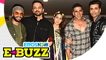 Ranveer Singh, Sara Ali Khan & Rohit Shetty at a Success Party