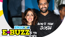 Yami Gautam and Vicky Kaushal at a success party