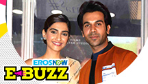 Sonam Kapoor Ahuja and Rajkummar Rao at a Special Screening